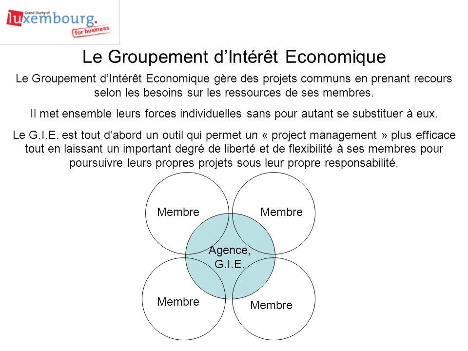 Agence, G.I.E.