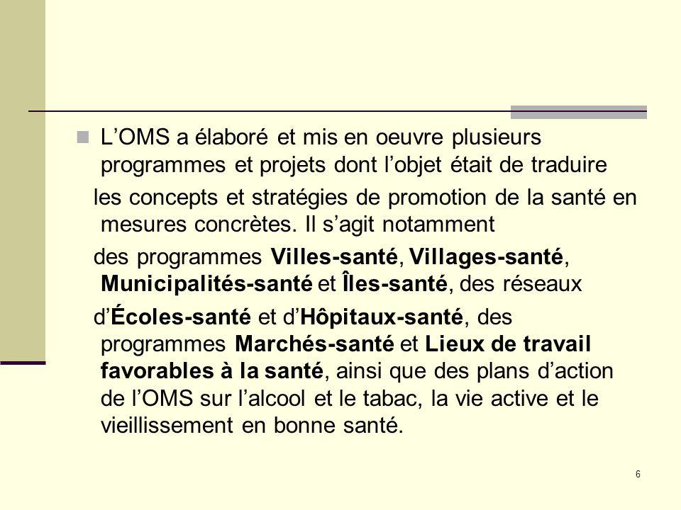 17 III. Analyse de la situation de la Région Africaine de lOMS