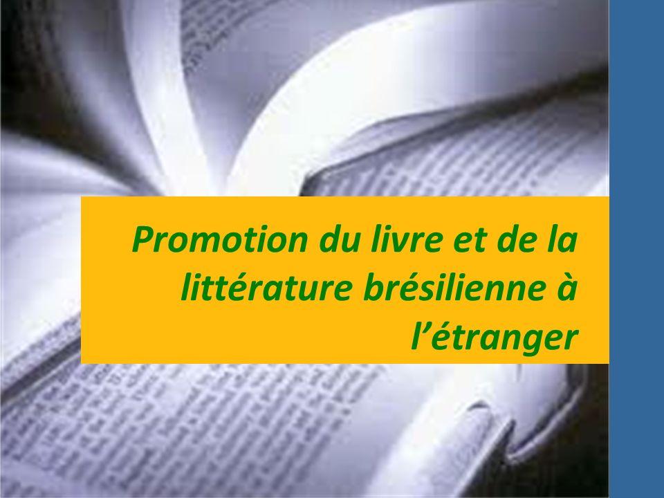Promotion du livre et de la littérature brésilienne à létranger