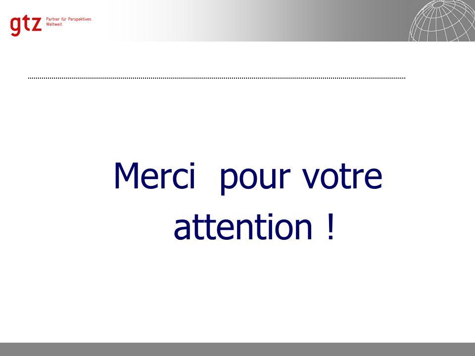 Département 4121 « Politique Économique et Promotion du Secteur Privé » Manfred Horr Folie 11 Merci pour votre attention !