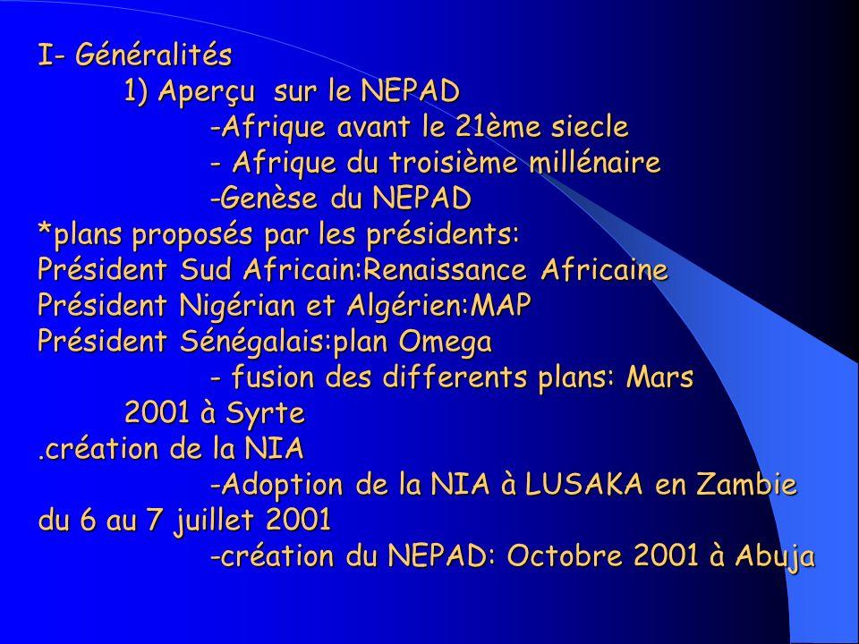 Introduction -Afrique et mondialisation -Réaction des dirigeants africains: prise en compte de la santé par le NEPAD Introduction -Afrique et mondialisation -Réaction des dirigeants africains: prise en compte de la santé par le NEPAD