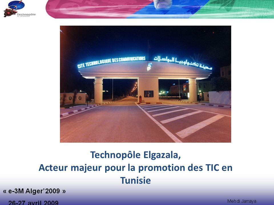 Environnement TIC en Tunisie Objectif, Stratégie et métier du Pôle Elgazala Indicateurs du Technopôle Phases de développement PLAN