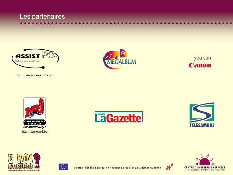 Les partenaires http://www.assistpc.com http://www.nrj.be