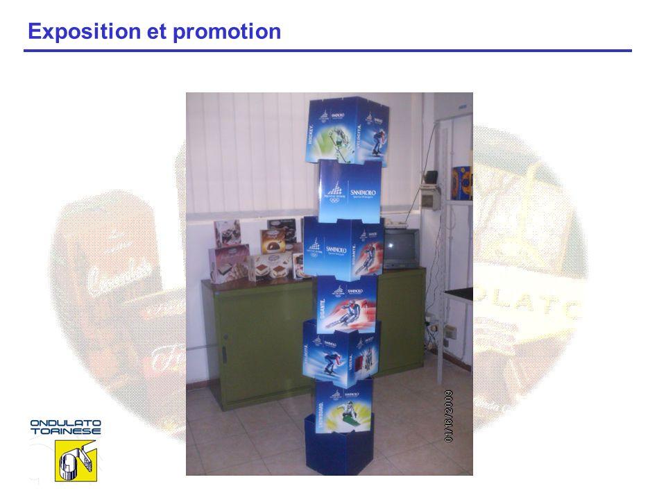 Exposition et promotion