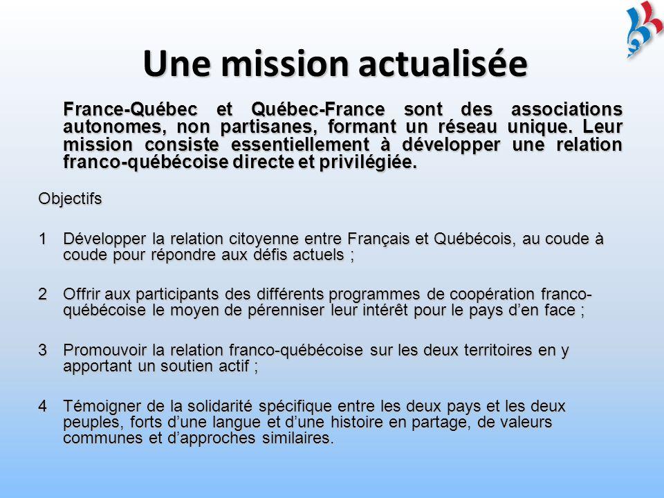 AVENIR : PROSPECTIVE 2009-2013 5 cibles stratégiques et 25 orientations CIBLE STRATÉGIQUE 1 Développer la mission des associations dont les objectifs ont été actualisés.
