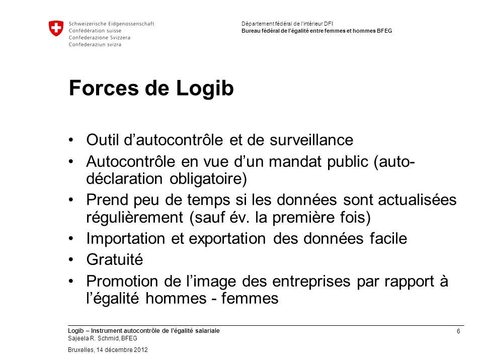 6 Logib – Instrument autocontrôle de légalité salariale Sajeela R.