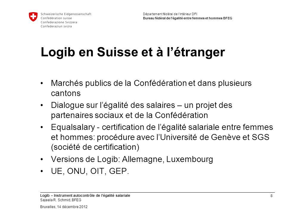 9 Logib – Instrument autocontrôle de légalité salariale Sajeela R.