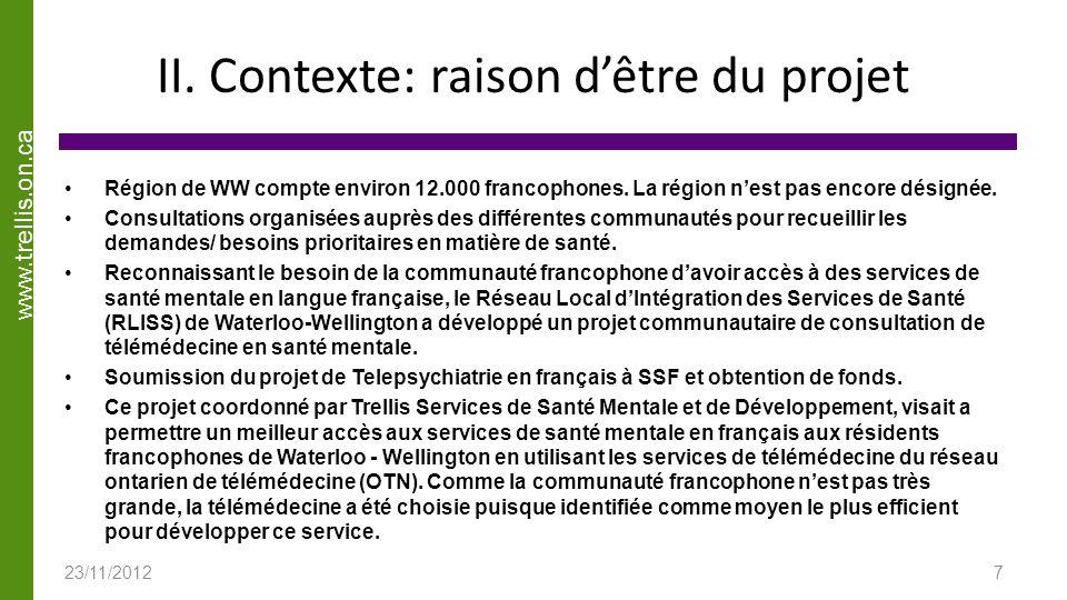 www.trellis.on.ca Nos Financeurs et Partenaires 23/11/2012