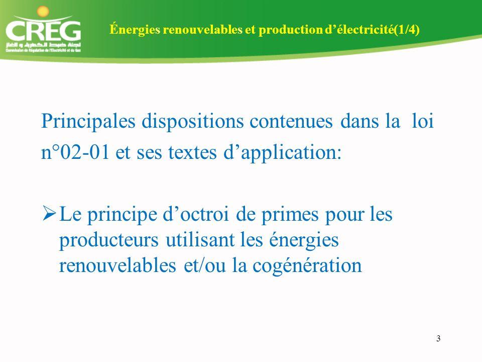 14 II Avant projet de décret relatif à la certification dorigine de lélectricité