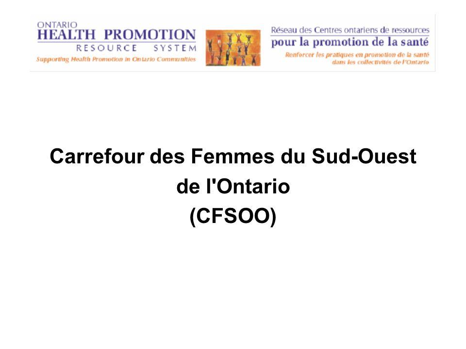 Carrefour des Femmes du Sud-Ouest de l'Ontario (CFSOO)