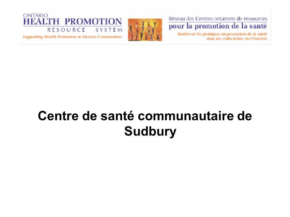 Centre de santé communautaire de Sudbury