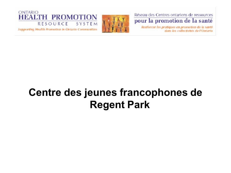 Centre des jeunes francophones de Regent Park