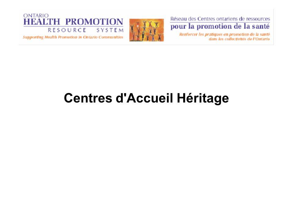 Centres d'Accueil Héritage