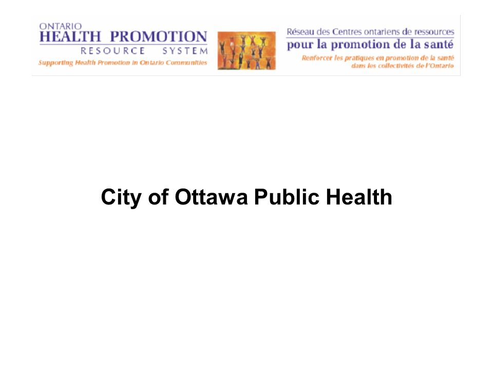 City of Ottawa Public Health
