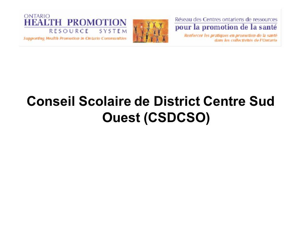 Conseil Scolaire de District Centre Sud Ouest (CSDCSO)