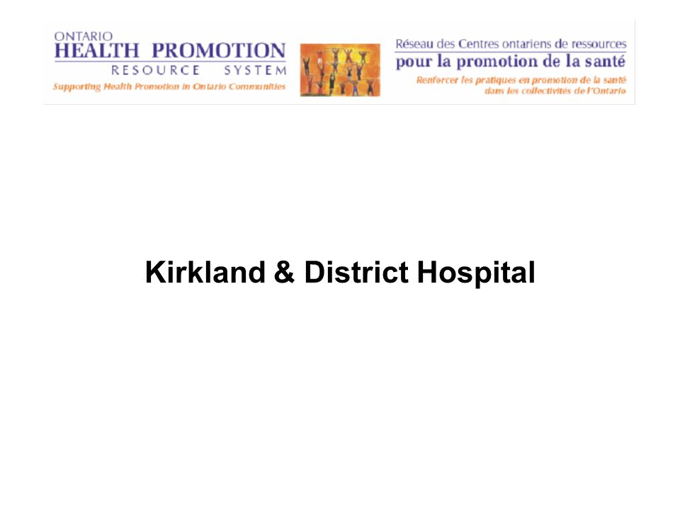 Kirkland & District Hospital