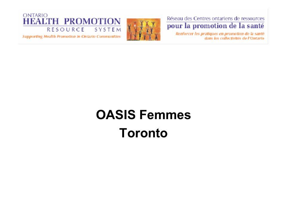 OASIS Femmes Toronto