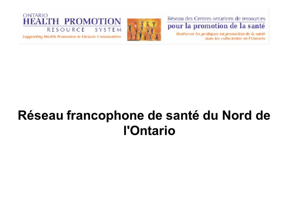 Réseau francophone de santé du Nord de l'Ontario