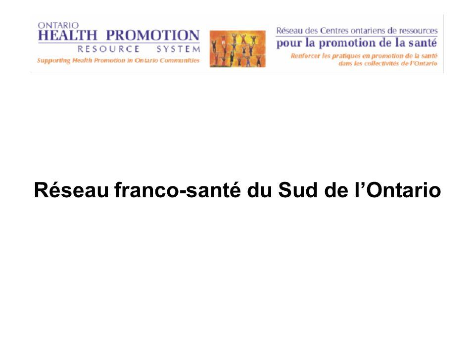 Réseau franco-santé du Sud de lOntario