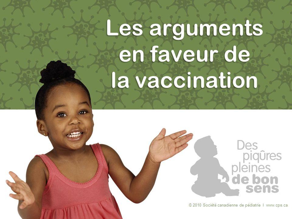 Les arguments en faveur de la vaccination