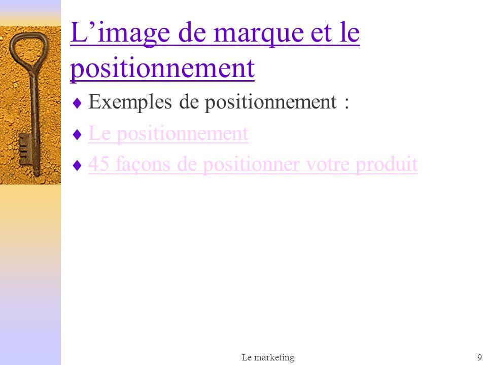 Le marketing9 Exemples de positionnement : Le positionnement 45 façons de positionner votre produit Limage de marque et le positionnement