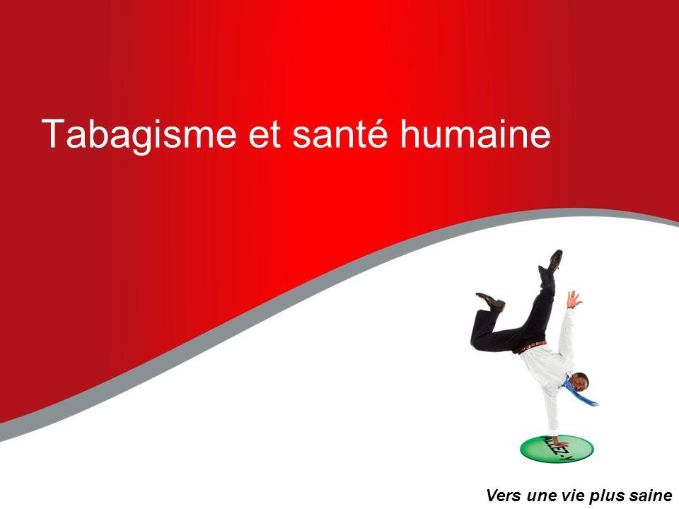 Tabagisme et santé humaine « Le Canada na pas dautre choix que dadopter un nouveau modèle de fonctionnement, qui devrait passer par la prévention et la gestion des maladies chroniques.