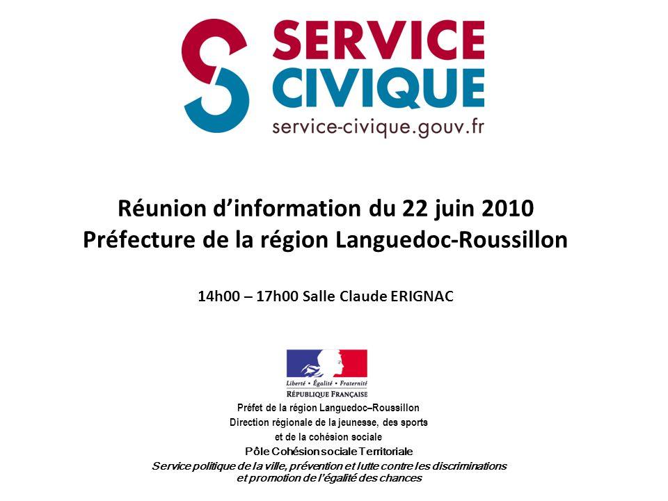 Agence du service civique Le jeune en service civique et la structure daccueil signeront un contrat de service civique.