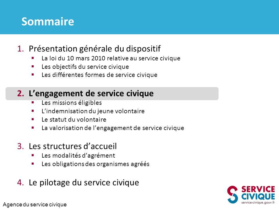 Agence du service civique 2.