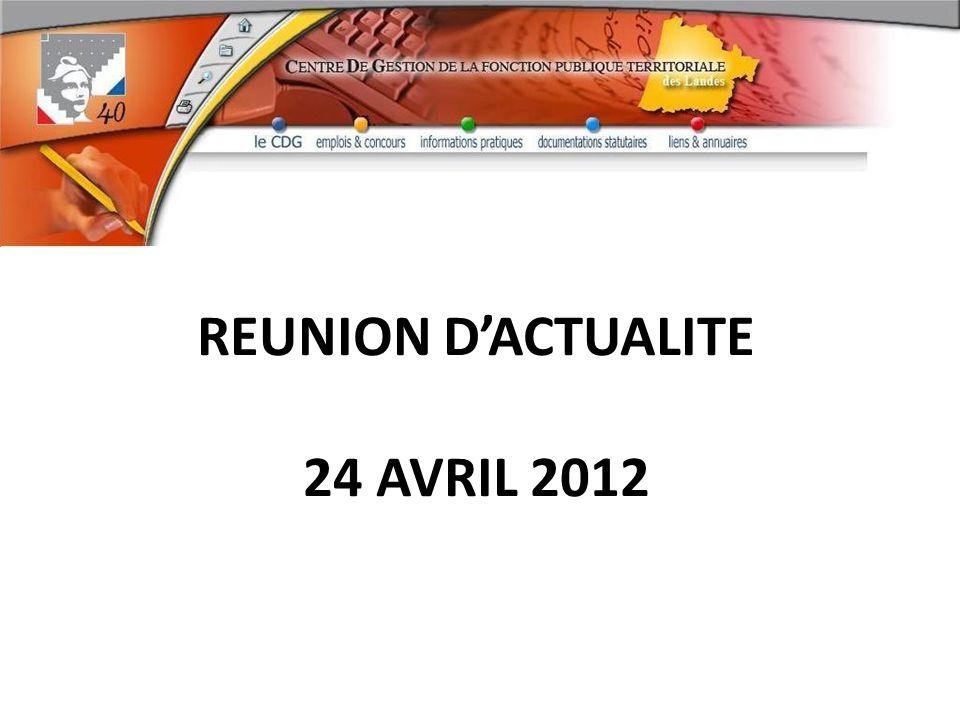 REUNION DACTUALITE 24 AVRIL 2012