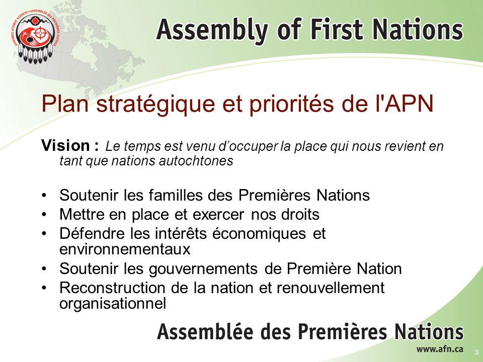 14 Gestionnaires en santé des Premières Nations Le Cadre des compétences de base a été terminé et les séances régionales dinformation ont commencé.