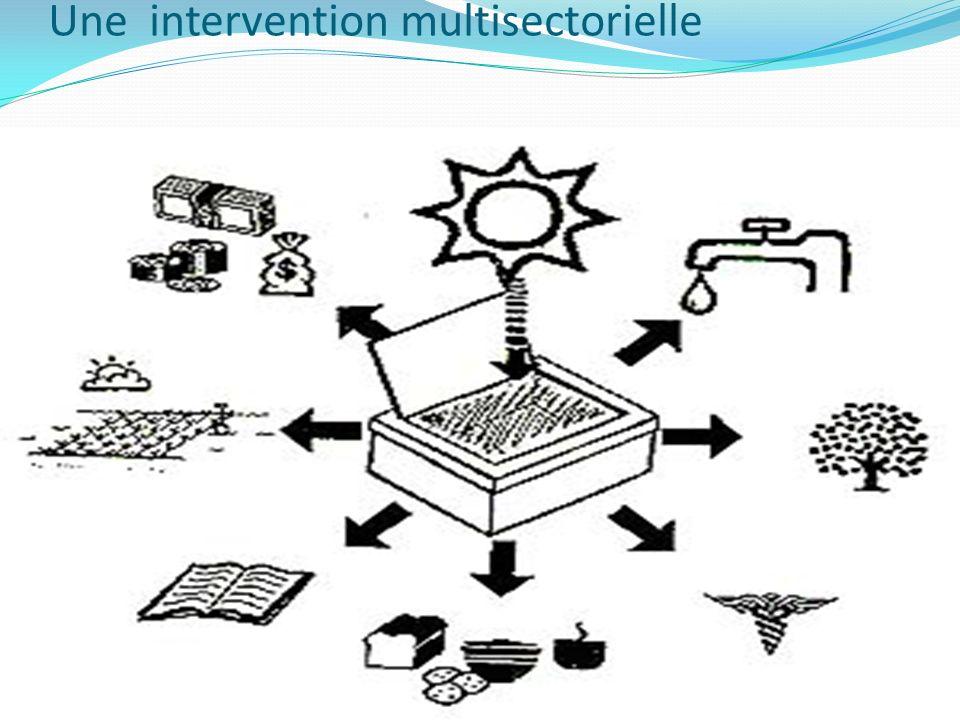Une intervention multisectorielle