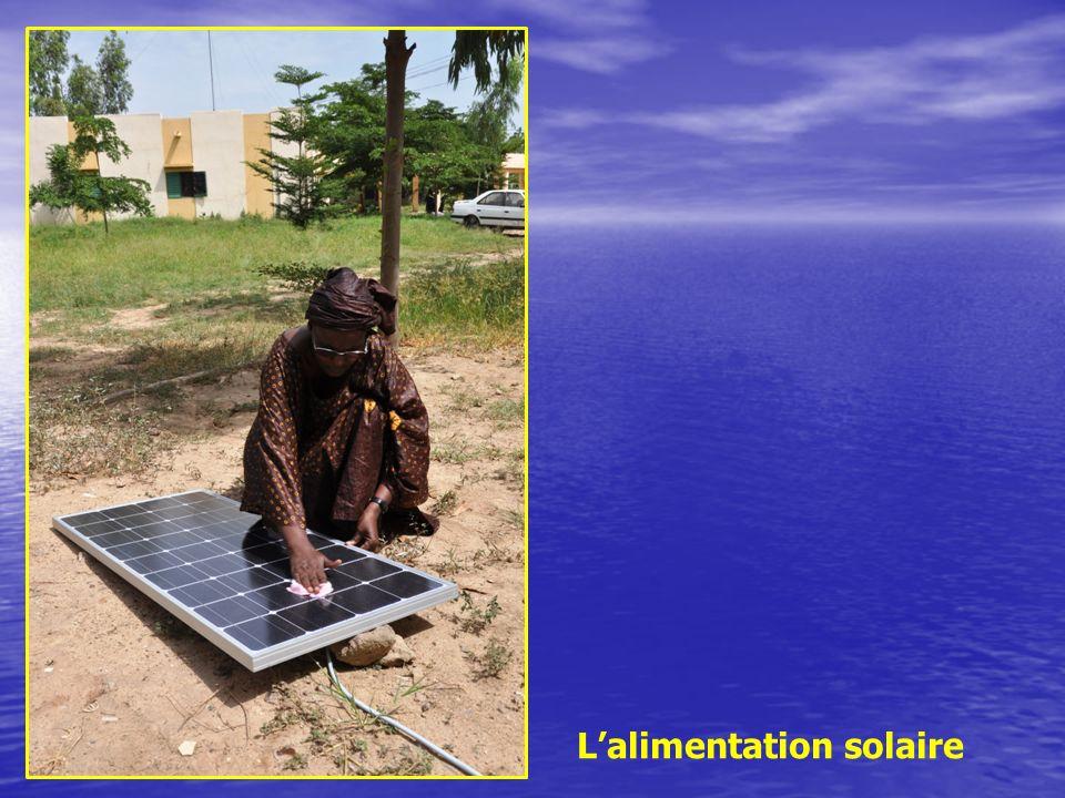 Lalimentation solaire