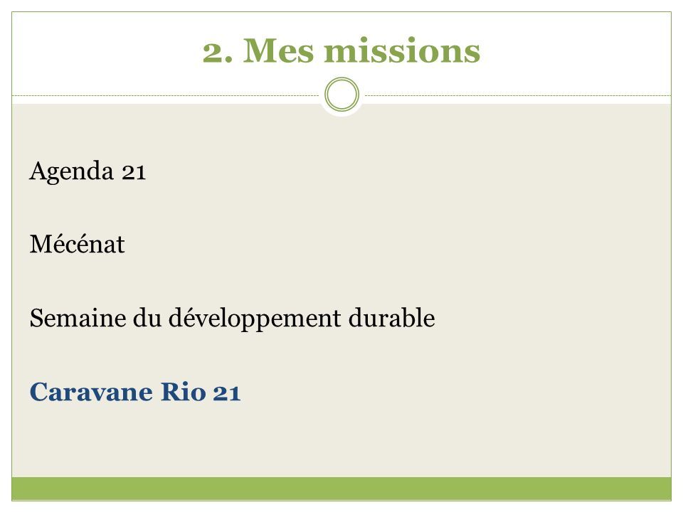 2.Mes missions 2.4.