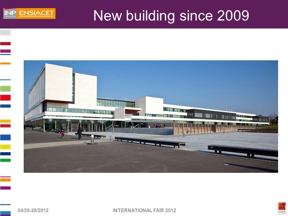 04/25-28/2012INTERNATIONAL FAIR 2012 New building since 2009
