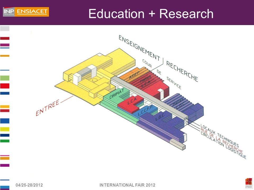 04/25-28/2012INTERNATIONAL FAIR 2012 Education + Research