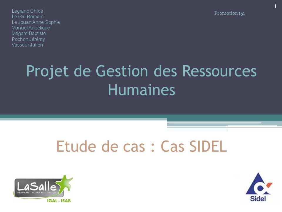Plan Introduction I.Étude du personnel et des effectifs II.