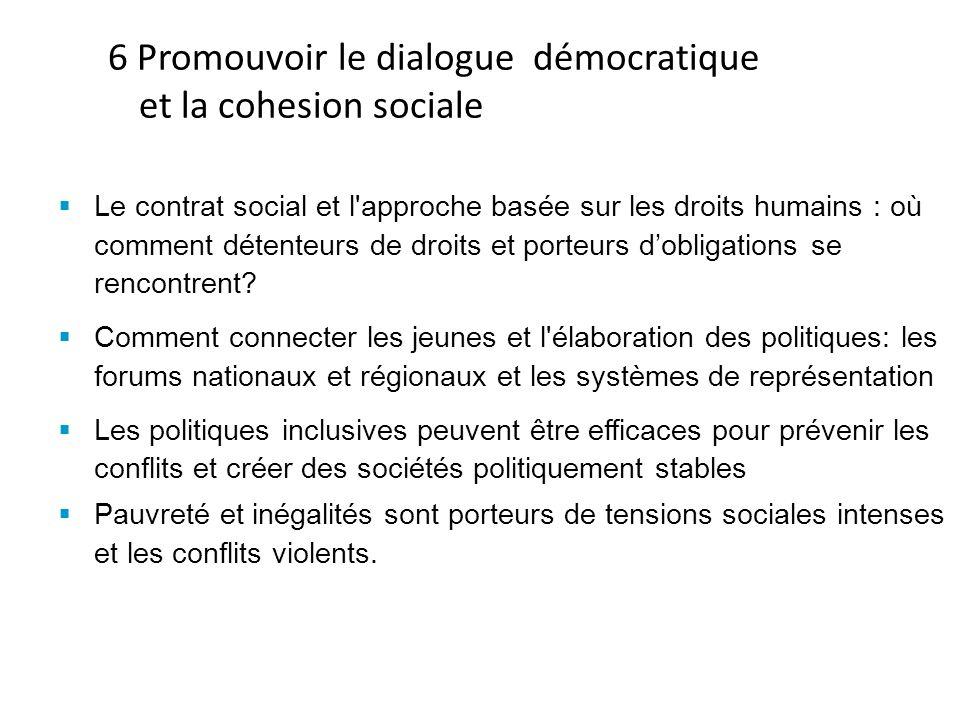 Le contrat social et l approche basée sur les droits humains : où comment détenteurs de droits et porteurs dobligations se rencontrent.