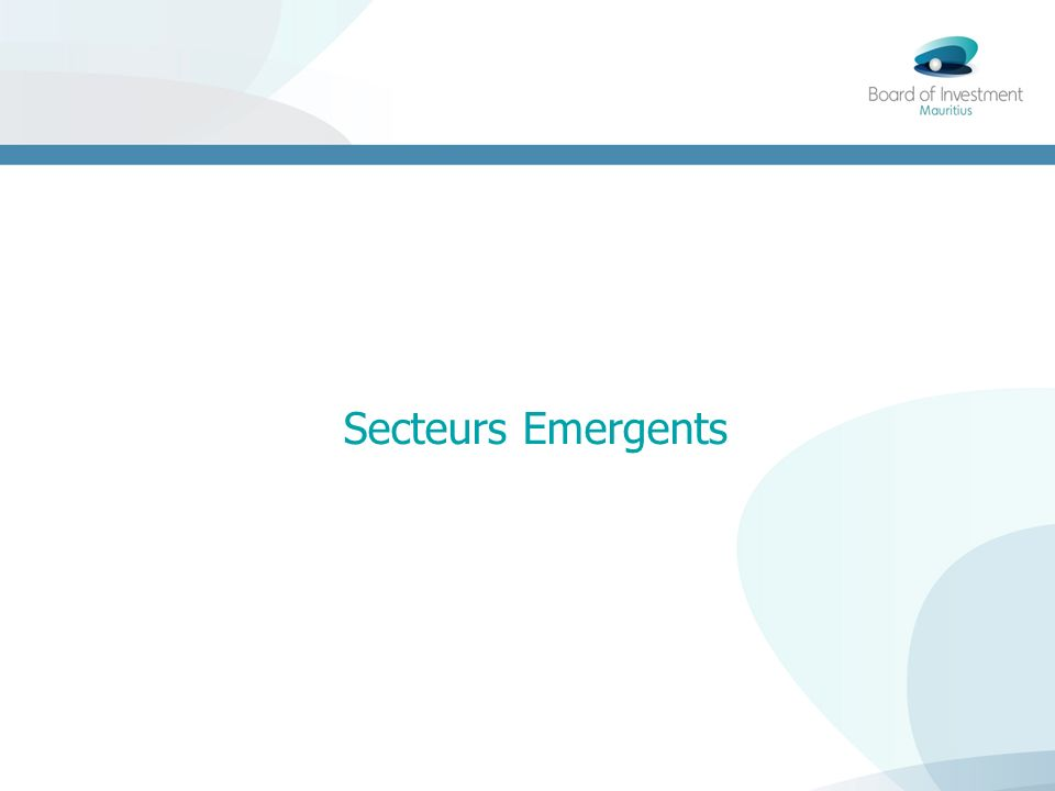 Secteurs Emergents