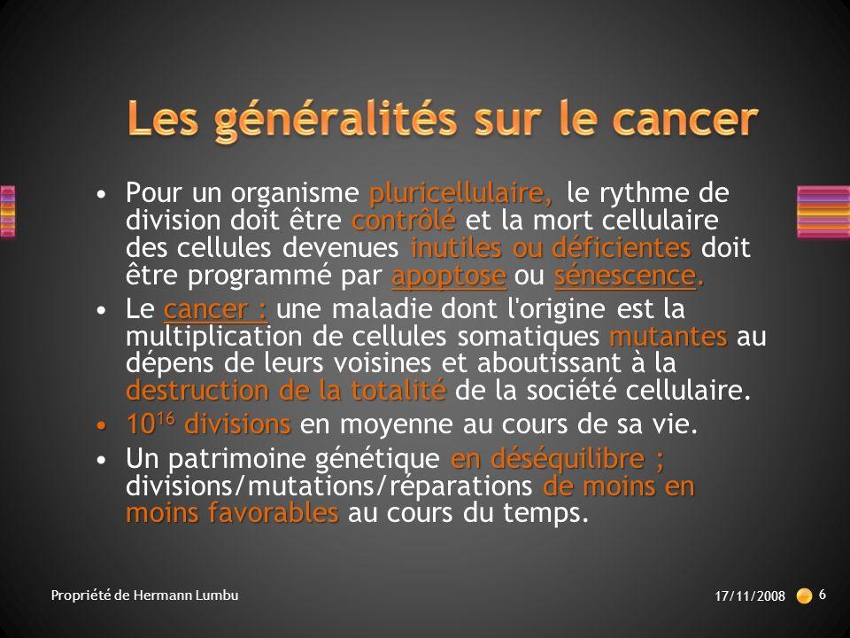 première cause de mortalité.Le cancer est la première cause de mortalité.
