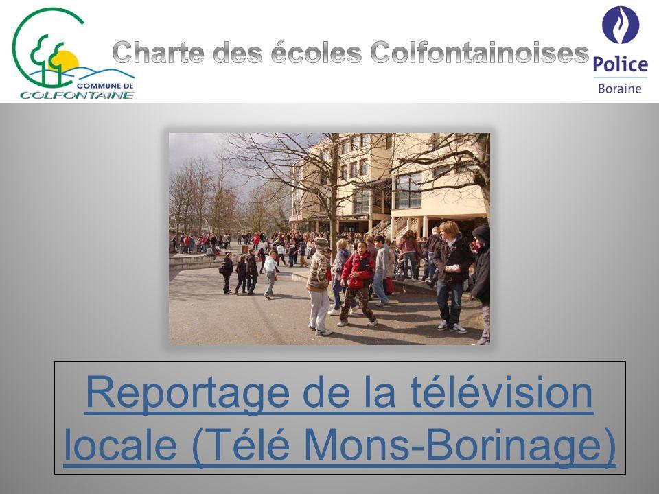 Reportage de la télévision locale (Télé Mons-Borinage)