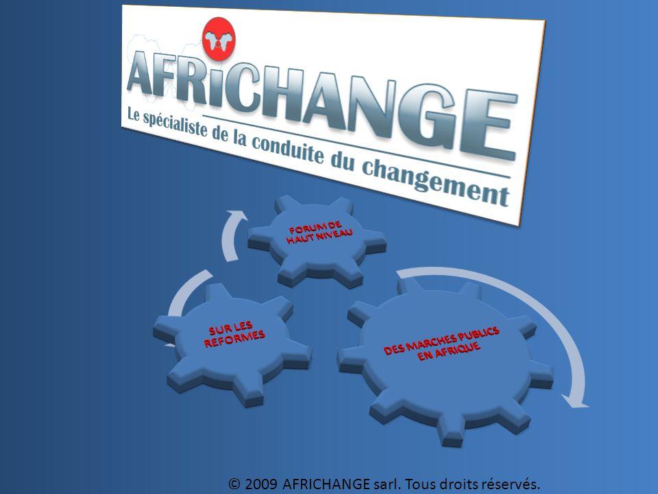 1 © 2009 AFRICHANGE sarl. Tous droits réservés.