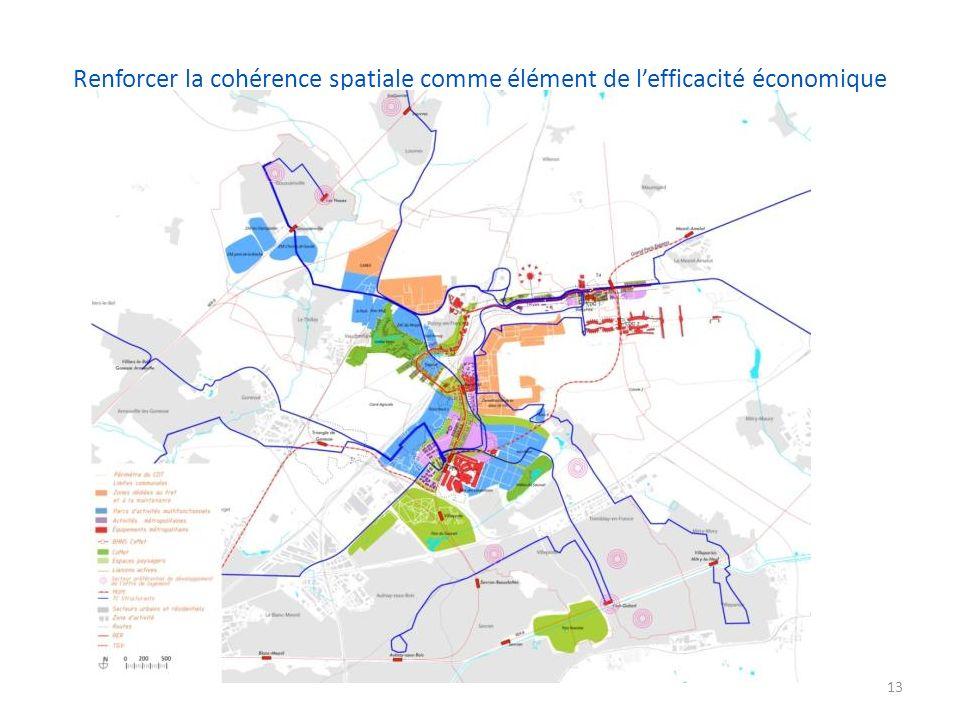 Renforcer la cohérence spatiale comme élément de lefficacité économique 13