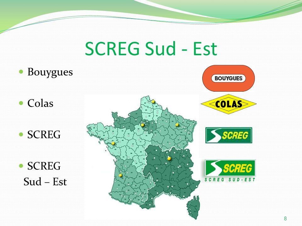 SCREG Sud - Est Bouygues Colas SCREG Sud – Est 8