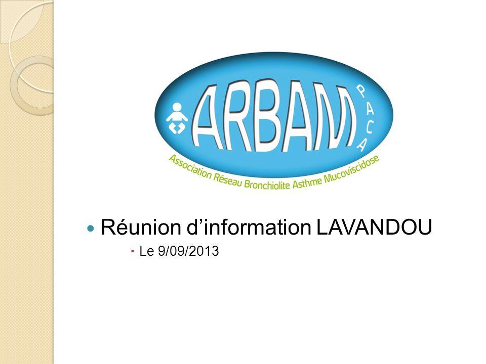 Réunion dinformation LAVANDOU Le 9/09/2013