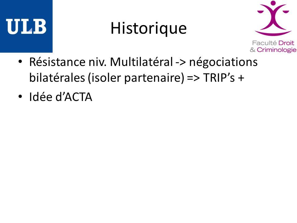 Historique Résistance niv.