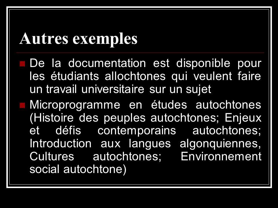 Autres exemples De la documentation est disponible pour les étudiants allochtones qui veulent faire un travail universitaire sur un sujet Microprogram