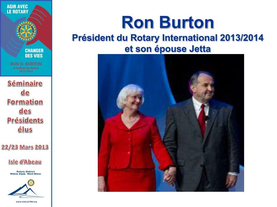 Notre mission la plus importante est de tout faire pour que les Rotariens sinvestissent pleinement.
