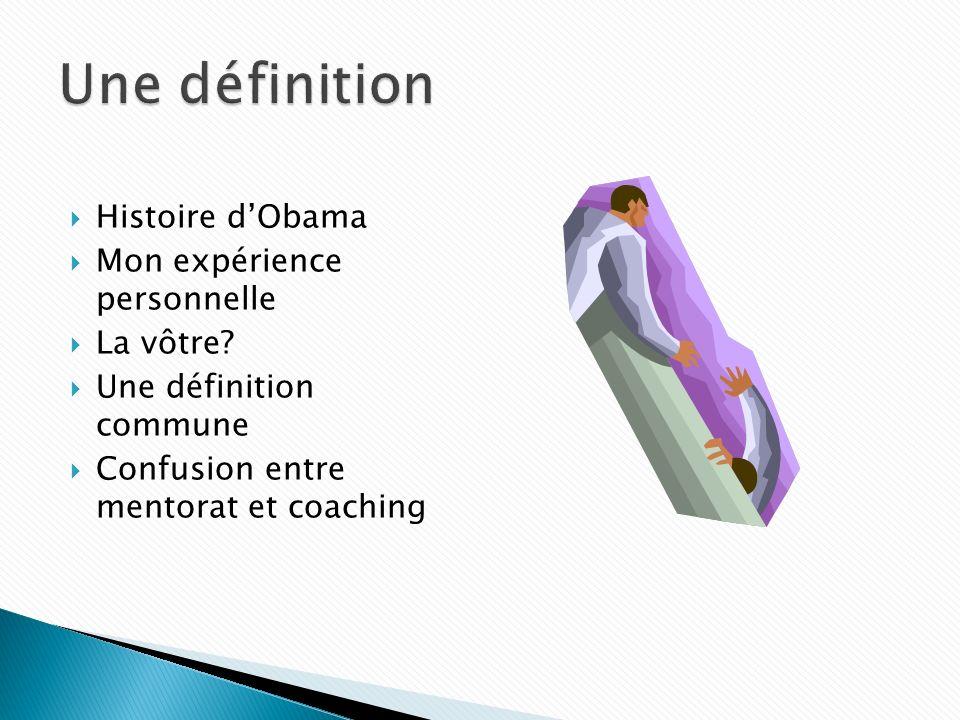 Histoire dObama Mon expérience personnelle La vôtre.