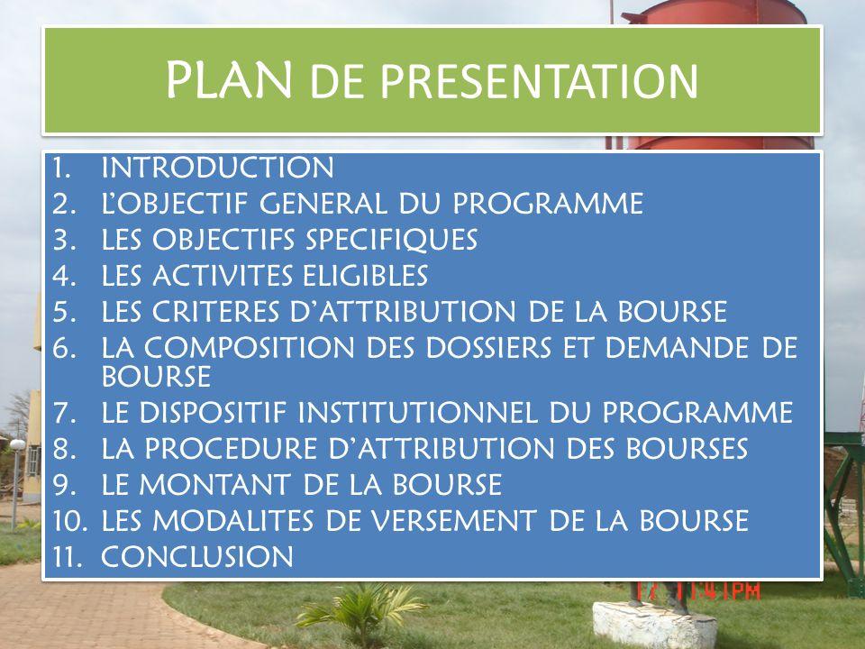INTRODUCTION La loi N° 055-2004/A N portant code général des collectivités dispose que la décentralisation consacre le droit des collectivités territoriales à sadministrer librement et à gérer des affaires propres en vue de promouvoir le développement à la base.
