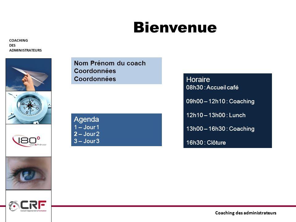 COACHINGDESADMINISTRATEURS Coaching des administrateurs Accompagnement 3.